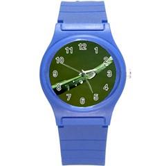 Grass Drops Plastic Sport Watch (Small)