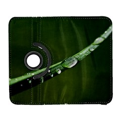Grass Drops Samsung Galaxy S  III Flip 360 Case