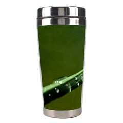 Grass Drops Stainless Steel Travel Tumbler