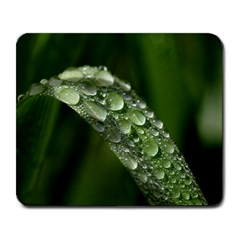 Grass Drops Large Mouse Pad (rectangle)