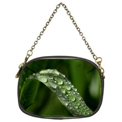 Grass Drops Chain Purse (two Sided)