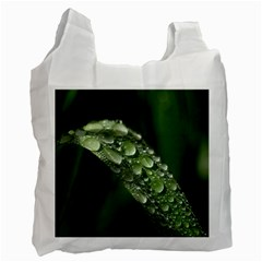 Grass Drops Recycle Bag (One Side)