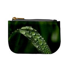 Grass Drops Coin Change Purse