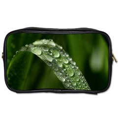 Grass Drops Travel Toiletry Bag (Two Sides)
