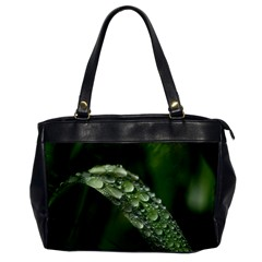 Grass Drops Oversize Office Handbag (One Side)