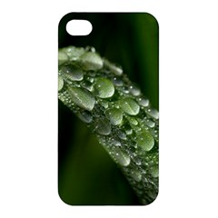Grass Drops Apple iPhone 4/4S Premium Hardshell Case