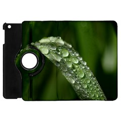 Grass Drops Apple iPad Mini Flip 360 Case