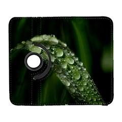 Grass Drops Samsung Galaxy S  III Flip 360 Case