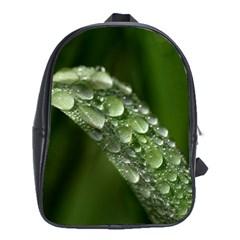 Grass Drops School Bag (XL)