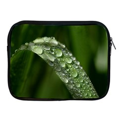 Grass Drops Apple iPad Zippered Sleeve