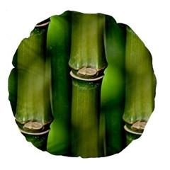 Bamboo 18  Premium Round Cushion