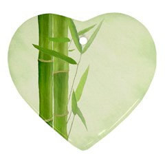 Bamboo Heart Ornament