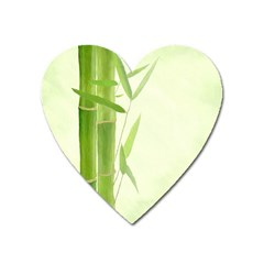 Bamboo Magnet (Heart)