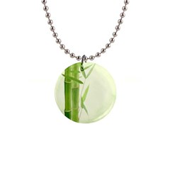 Bamboo Button Necklace