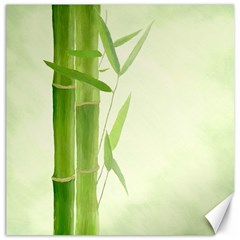 Bamboo Canvas 16  x 16  (Unframed)