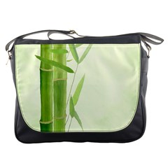 Bamboo Messenger Bag