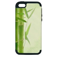 Bamboo Apple Iphone 5 Hardshell Case (pc+silicone)