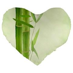 Bamboo 19  Premium Heart Shape Cushion
