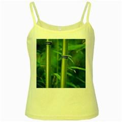 Bamboo Yellow Spaghetti Tank