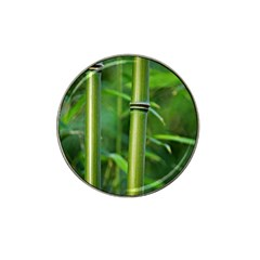 Bamboo Golf Ball Marker 4 Pack (for Hat Clip)
