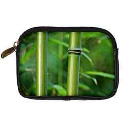 Bamboo Digital Camera Leather Case
