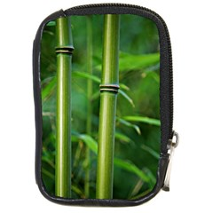 Bamboo Compact Camera Leather Case