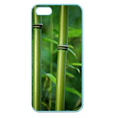 Bamboo Apple Seamless Iphone 5 Case (color)