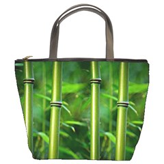 Bamboo Bucket Handbag