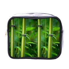 Bamboo Mini Travel Toiletry Bag (One Side)