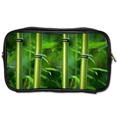 Bamboo Travel Toiletry Bag (one Side)