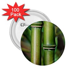 Bamboo 2 25  Button (100 Pack)