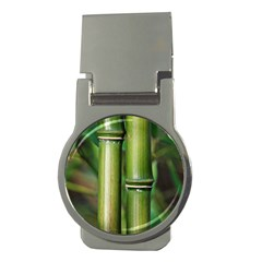 Bamboo Money Clip (Round)