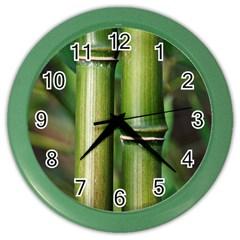 Bamboo Wall Clock (Color)