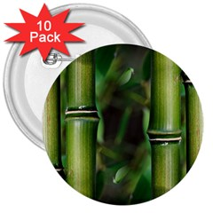 Bamboo 3  Button (10 pack)