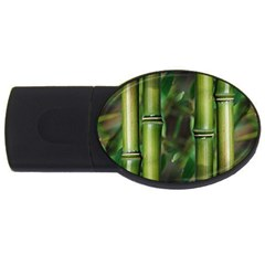 Bamboo 2GB USB Flash Drive (Oval)