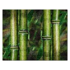 Bamboo Jigsaw Puzzle (rectangle)