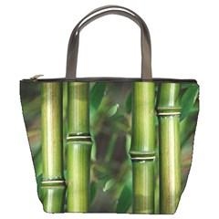 Bamboo Bucket Handbag