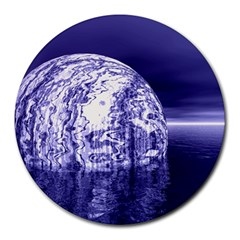 Ball 8  Mouse Pad (Round)