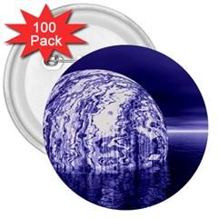 Ball 3  Button (100 pack)