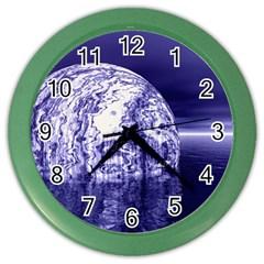 Ball Wall Clock (color)
