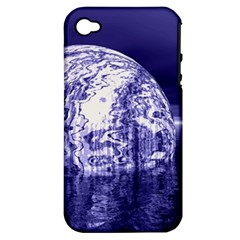 Ball Apple iPhone 4/4S Hardshell Case (PC+Silicone)