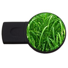Grass 4GB USB Flash Drive (Round)