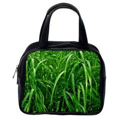 Grass Classic Handbag (one Side)