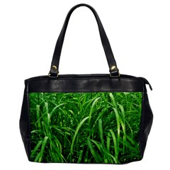 Grass Oversize Office Handbag (One Side)