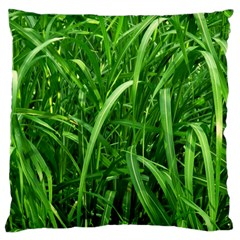Grass Large Cushion Case (Two Sided)