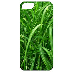 Grass Apple iPhone 5 Classic Hardshell Case