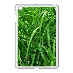 Grass Apple iPad Mini Case (White)