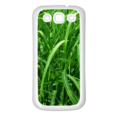 Grass Samsung Galaxy S3 Back Case (white)