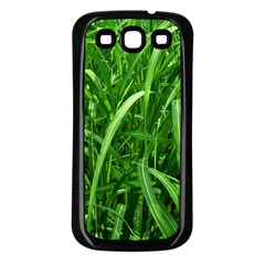 Grass Samsung Galaxy S3 Back Case (black)