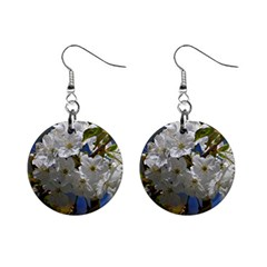 Cherry Blossom Mini Button Earrings